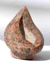 Das Empfangende - Granit © Katharina Hansen-Gluschitz