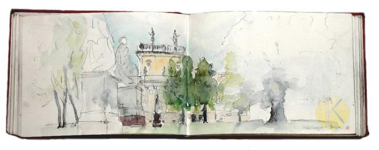 Berlin - Staatsoper © Katharina Hansen-Gluschitz