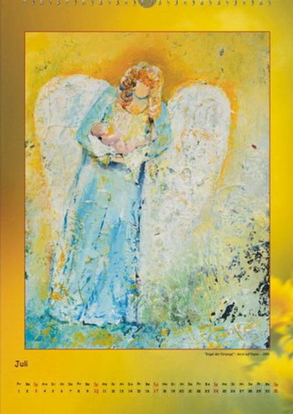 Der Engel der Fürsorge - Engelkalender © Katharina Hansen-Gluschitz
