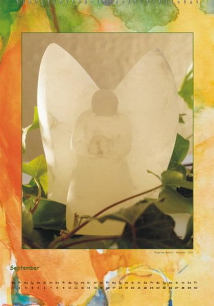 Engel der Stille I - Engelkalender © Katharina Hansen-Gluschitz