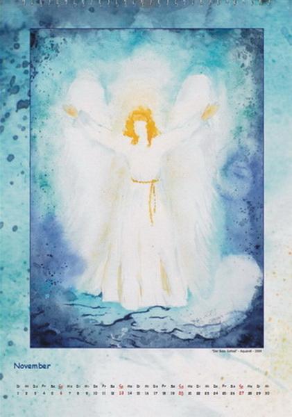 Der Bote Gottes - Engelkalender © Katharina Hansen-Gluschitz