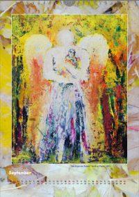 Der Engel des Trostes - Engelkalender © Katharina Hansen-Gluschitz