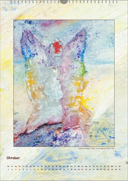 Der Engel des Geleits - Engelkalender © Katharina Hansen-Gluschitz