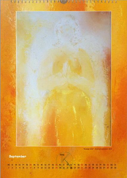 Erzengel Uriel - Engelkalender © Katharina Hansen-Gluschitz