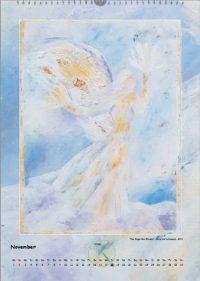Der Engel des Windes - Engelkalender © Katharina Hansen-Gluschitz