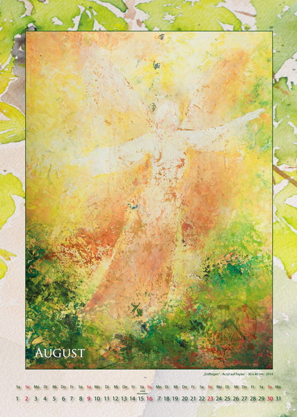 Entflogen - Engelkalender © Katharina Hansen-Gluschitz