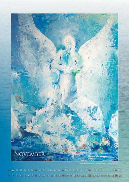 Engel des ewigen Eises - Engelkalender © Katharina Hansen-Gluschitz
