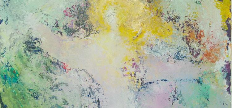 Engel im Sturm - Ausschnitt - Engelkalender © Katharina Hansen-Gluschitz