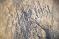 Inschrift - Granit © Katharina Hansen-Gluschitz