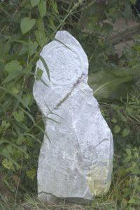 Geomantie für den Garten - Skulptur - Marmor © Katharina Hansen-Gluschitz