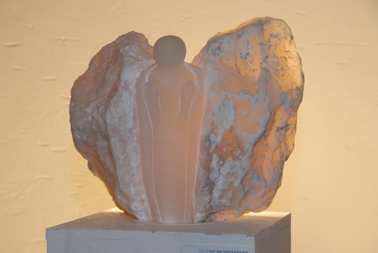 Der Engel der Verkündigung - Alabaster © Katharina Hansen-Gluschitz
