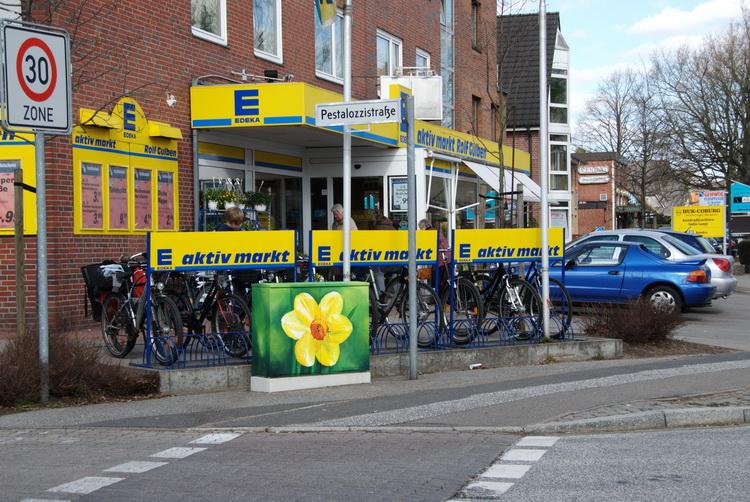 Stromkasten Ulzburger Strasse - Norderstedt © Katharina Hansen-Gluschitz