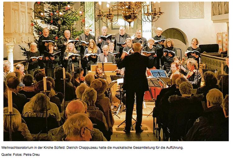 Cantus Sülfeld - Weihnachtsoratorium I - VI- Foto: Petra Dreu