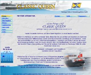 Alte Webseite - Classic-Queen-Hamburg © Katharina Hansen-Gluschitz