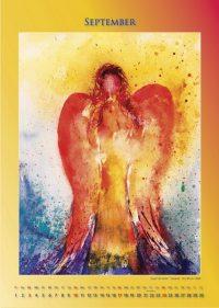 Engel der Liebe - Engelkalender © Katharina Hansen-Gluschitz