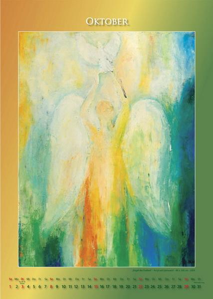 Der Engel der Freiheit - Engelkalender © Katharina Hansen-Gluschitz