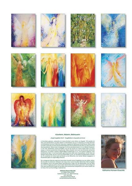 Engel begleiten Dich - Übersicht Engelkalender © Katharina Hansen-Gluschitz