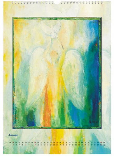 Engel des Friedens - Engelkalender © Katharina Hansen-Gluschitz