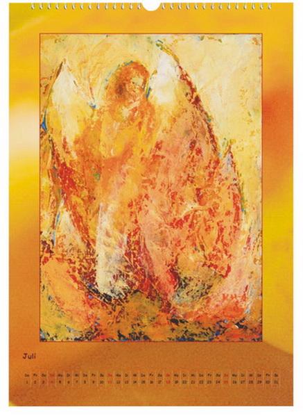 Engel der Elemente - Feuer - Engelkalender © Katharina Hansen-Gluschitz