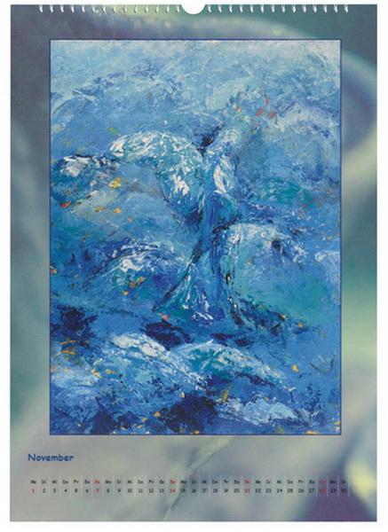 Engel - Element Wasser - Engelkalender © Katharina Hansen-Gluschitz