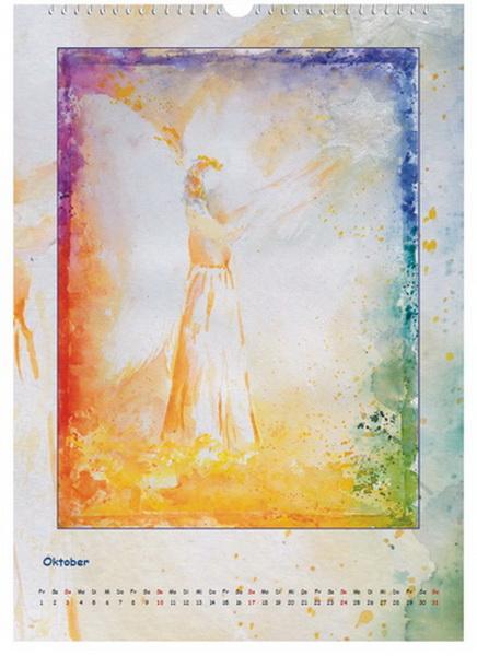 Engel der Vergebung - Engelkalender © Katharina Hansen-Gluschitz