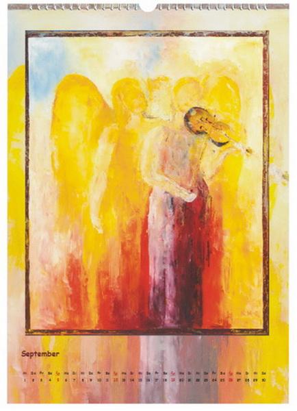 Himmlische Klänge - Engelkalender © Katharina Hansen-Gluschitz
