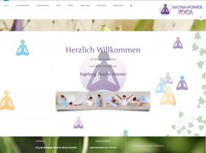 Logo + Webseite - www.Hatha-Power-Yoga.de © Katharina Hansen-Gluschitz