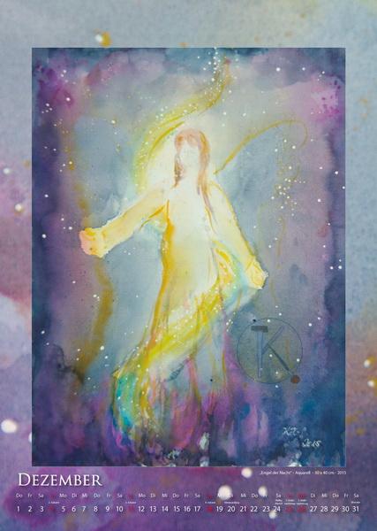 Der Engel der Nacht - Engelkalender © Katharina Hansen-Gluschitz