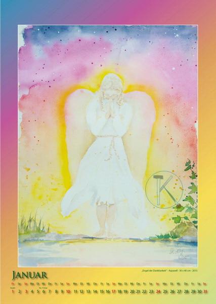 Engel der Dankbarkeit - Engelkalender © Katharina Hansen-Gluschitz