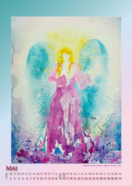 Engel des Inneren Leuchtens - Engelkalender © Katharina Hansen-Gluschitz