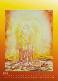 Engel der Morgenröte - Engelkalender © Katharina Hansen-Gluschitz