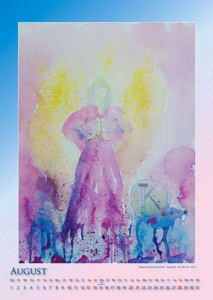 Engel der Besonnenheit - Engelkalender © Katharina Hansen-Gluschitz