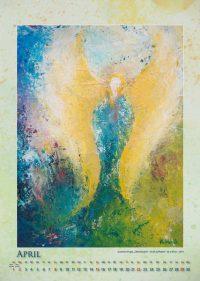 Der Engel der Erlösung - Engelkalender © Katharina Hansen-Gluschitz