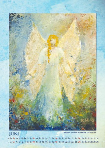 Engel für Maximilian - Engelkalender © Katharina Hansen-Gluschitz