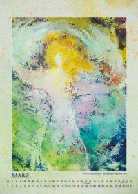 Engel im Sturm - Engelkalender © Katharina Hansen-Gluschitz