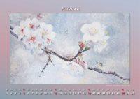 Apfelblüte - Blumen in Acryl - Kalender © Katharina Hansen-Gluschitz