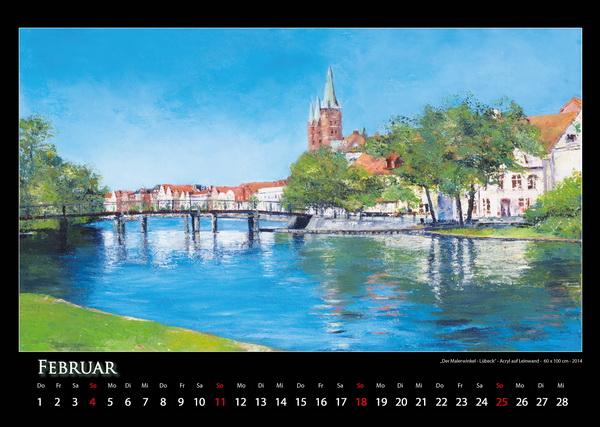 Lübeck - Quer durch Deutschland © Katharina Hansen-Gluschitz