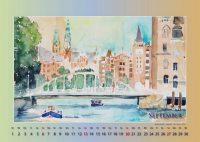 Speicherstadt - Mein Hamburg - Kalender © Katharina Hansen-Gluschitz