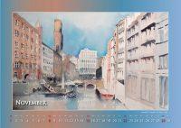 Alsterfleet - Mein Hamburg - Kalender © Katharina Hansen-Gluschitz