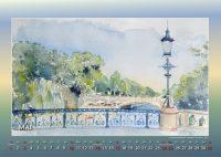 Schwanenwikbrücke - Mein Hamburg - Kalender © Katharina Hansen-Gluschitz