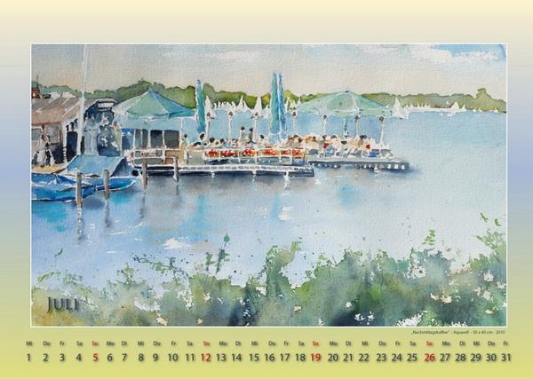 Nachmittagskaffee - Mein Hamburg - Kalender © Katharina Hansen-Gluschitz