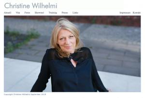 Webseite: www.Chrstine.Wilhelmi.de - Gestaltung: Katharina Hansen-Gluschitz