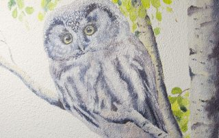 Fassadenwandmalerei © Katharina Hansen-Gluschitz