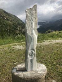Energietransformator - Geoakupunktur in Obergurgl - Marmor © Katharina Hansen-Gluschitz
