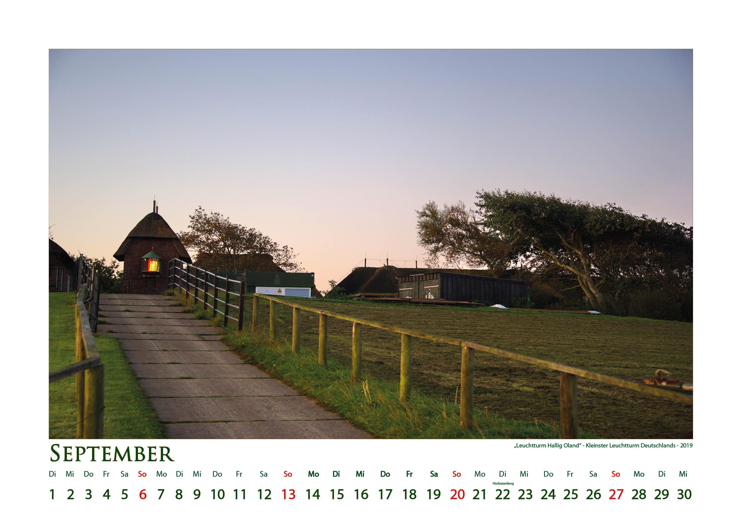 Leuchtturm Oland - Leuchttürme - Kalender 2020 © Katharina Hansen-Gluschitz