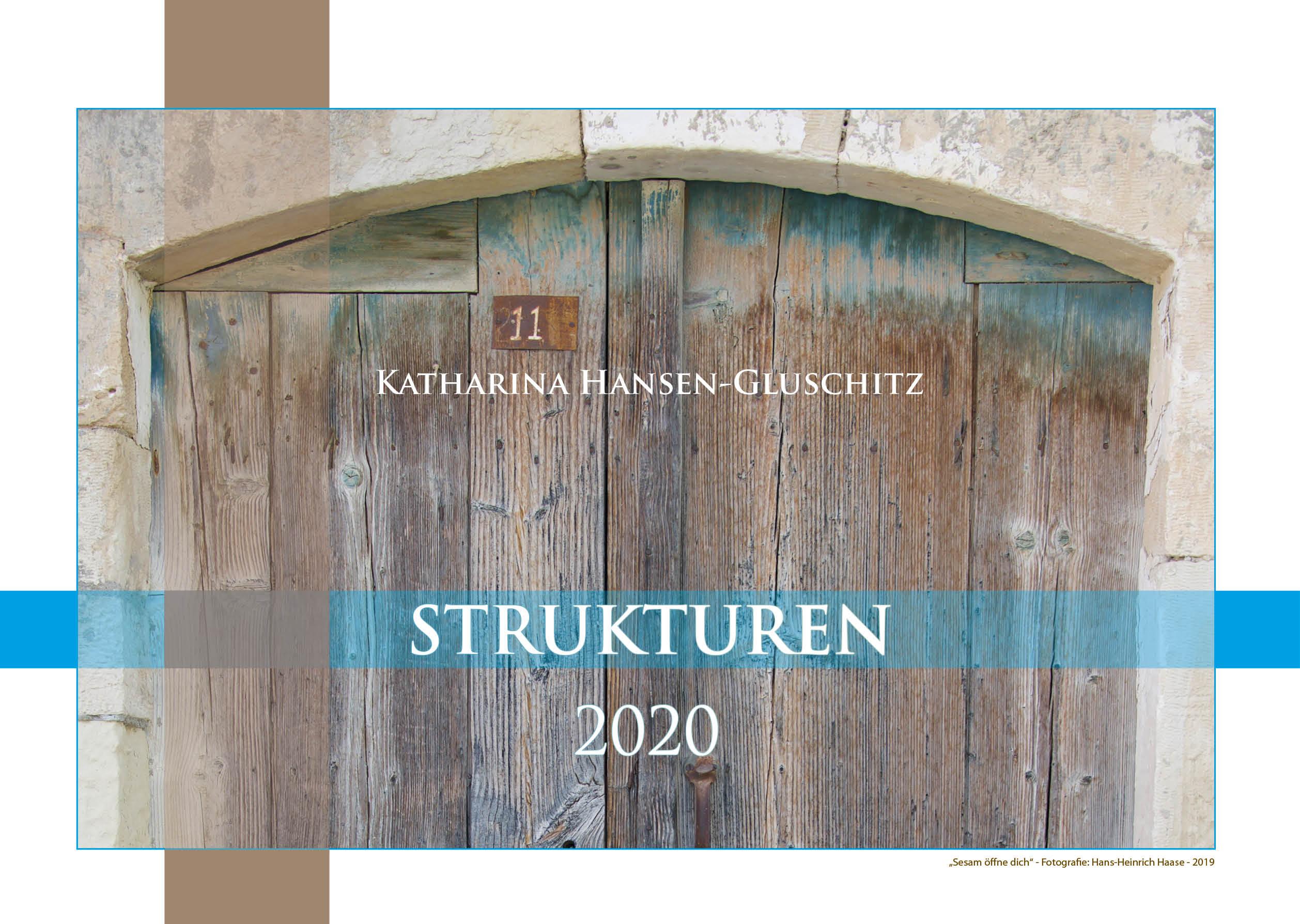 Deckblatt - Strukturen - Kalender 2020 © Katharina Hansen-Gluschitz