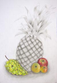 Zeichnung und Buntstift - Schülerarbeit - Foto: © Katharina Hansen-Gluschitz