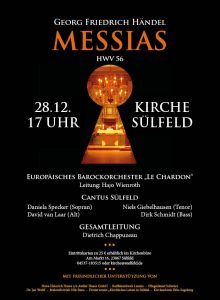 Plakat Messias Cantus Sülfeld