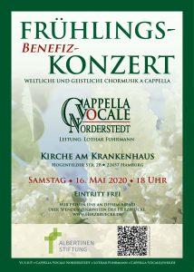 Plakat Cappella Vocale Norderstedt - Layout: Katharina Hansen-Gluschitz