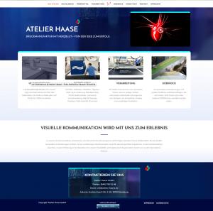 Atelier-Haase.de - Webseite der Druckmanufaktur mit Herz © Atelier Haase GmbH